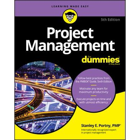Project Management for Dummies (Best Project Management Textbook)