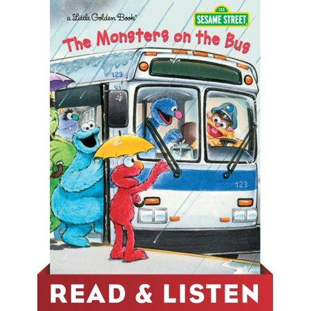 The Monsters on the Bus (Sesame Street): Read & Listen Edition - eBook (Sesame Street Bus)