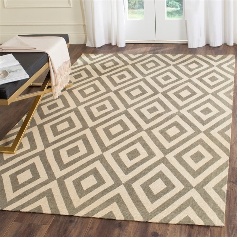 Safavieh Cedar Brook 5' X 8' Handmade Jute Pile Rug in Ivory and Gray - image 6 of 8