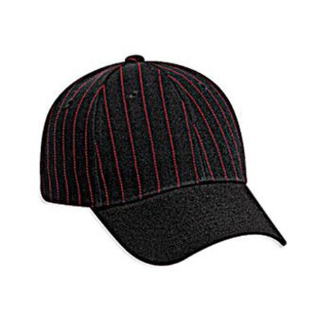 Otto Cap Pin Striped Alternative Wool Blend Low Profile Style Caps - Hat / Cap for Summer, Sports, Picnic, Casual wear and Reunion etc
