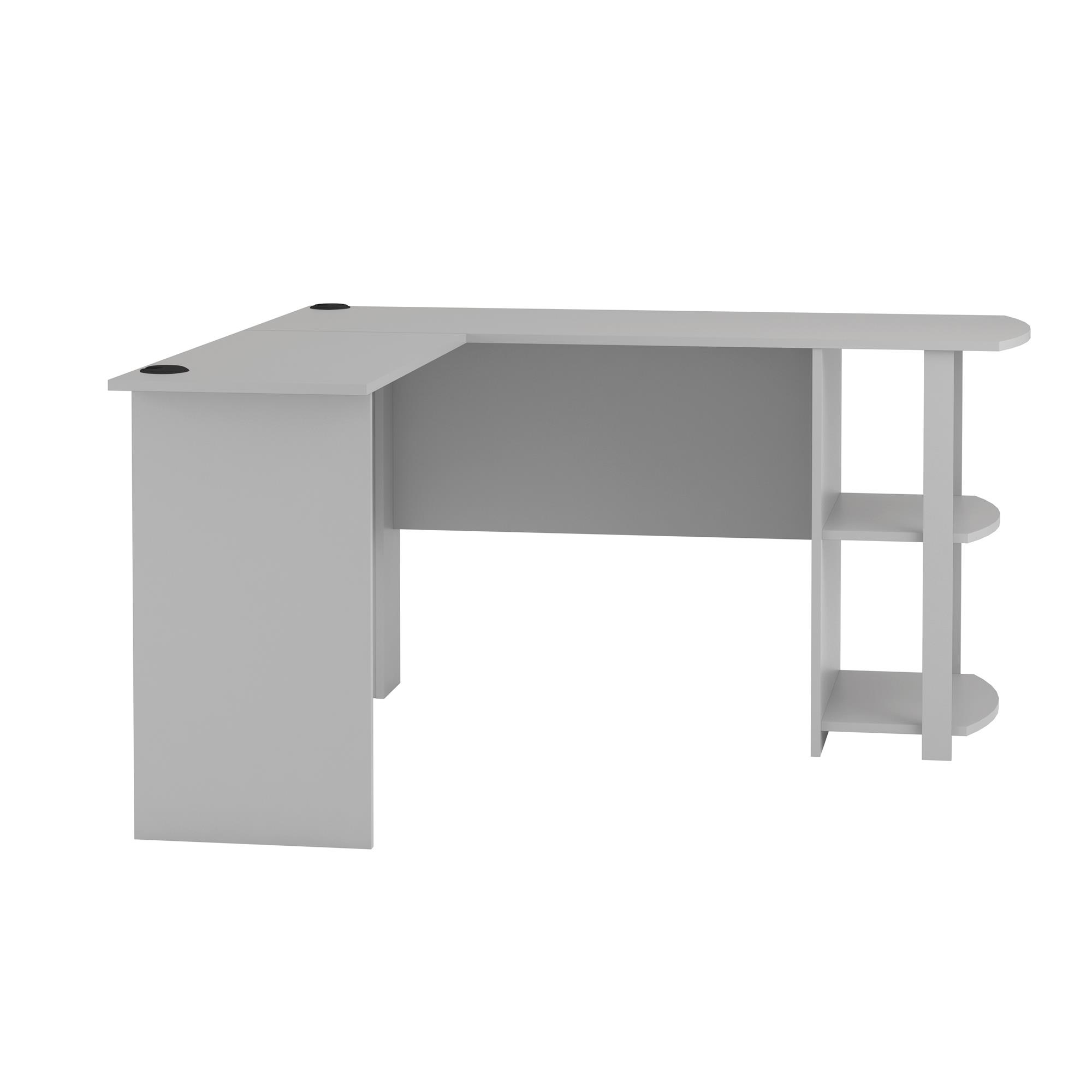 Ameriwood L Shaped Office Desk With Side Storage Multiple Finishes