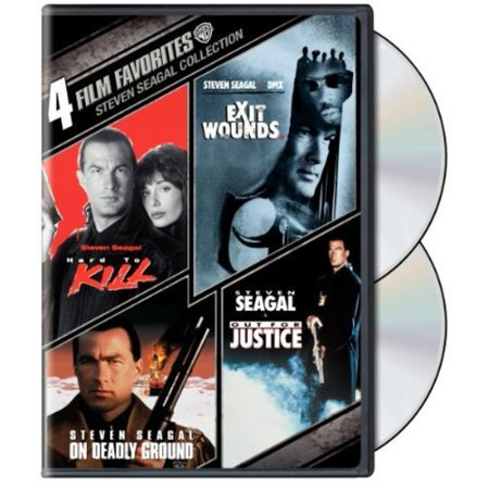 4 Film Favorites: Steven Seagal Action - Exit Wounds / Hard To Kill / Out For Justice / On Deadly Ground (Widescreen) - Le Film Halloween