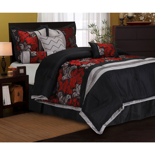 Lincoln 7-Piece Bedding Comforter Set