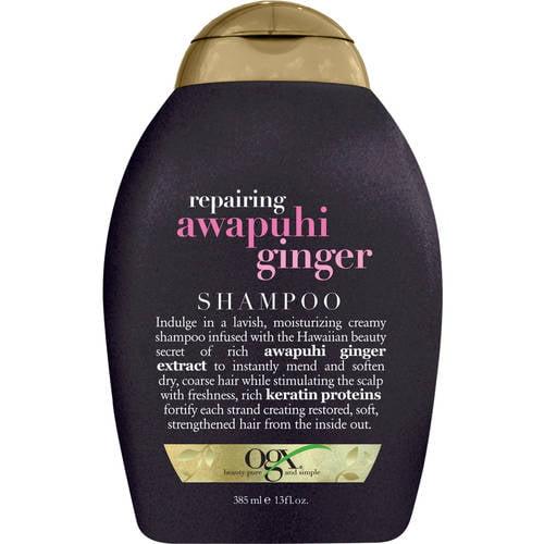 OGX Repairing Awapuhi Ginger Shampoo, 13 Oz