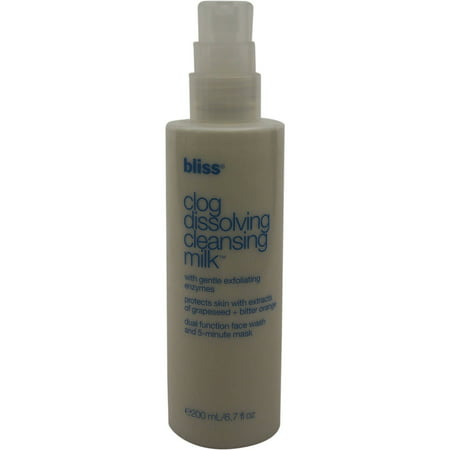 Bliss Clog Dissolving Cleansing Milk  6 7 Fl Oz