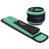Yes4All Neoprene Ankle / Wrist Weights, 1-5 lbs Pair