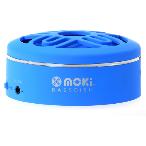 Moki BassDisc Wireless Bluetooth Pocket Speaker