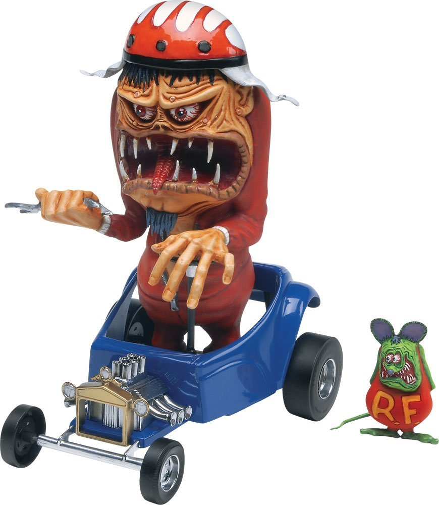 Ed Roth Drag Nut Plastic Model Kit, Skill Level: 2 By Revell by
