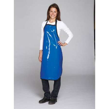 Blue Value Grooming Aprons Water Resistant Vinyl Apron for Dog & Cat Groomers Salon