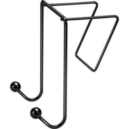 - Fellowes, FEL75510, Wire Partition Additions™ Double Coat Hook, 1 Each, Black