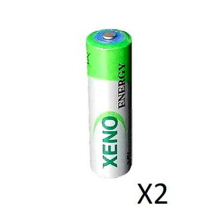 2  Xeno Er14505 3 6V Aa For Aa Er14505 3 6V I Pass Ipass Battery Ls14500 Free S