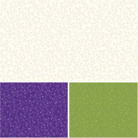 Vine Cotton Fabric (Waverly Inspirations Cotton 44