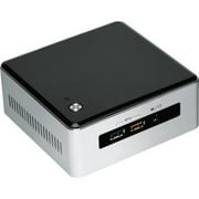 Intel BOXNUC5I7RYH Intel NUC5I7RYH Desktop Computer - Intel Core i7 i7-5557U 3.10 GHz - Mini PC - Silver, Black - DDR3L SDRAM RAM - Intel Iris Graphics 6100 - DDR3L SDRAM Graphics