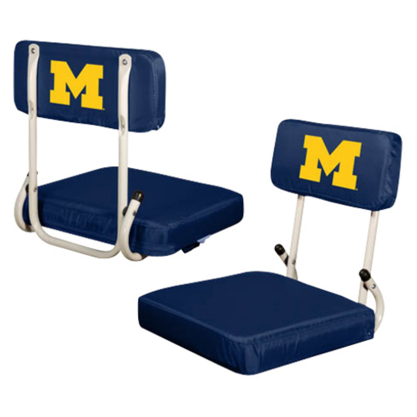 Logo Chair NCAA Michigan Hard Back Stadium Seat