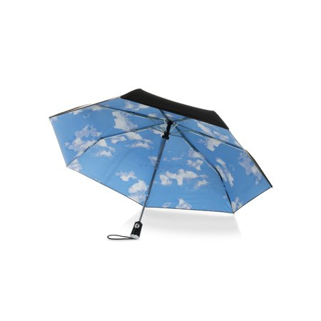 Auto Open Close Umbrella with Under Print Canopy