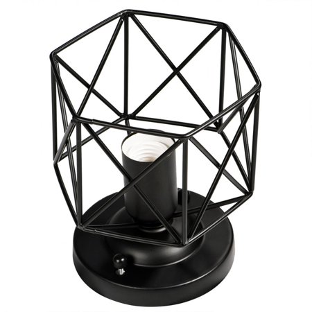 HERCHR E26 Vintage Style Ceiling Light Unique Geometric Shape House Hotel Cafe Decorative Lamp Holder, E26 Wall Lamp Holder, Vintage Wall Sconce
