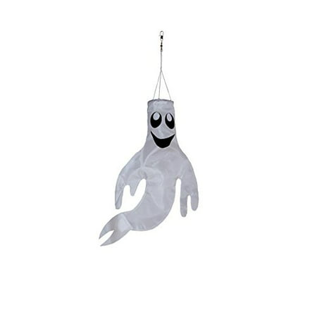 In the Breeze Small 18 inch Ghost Windsock Halloween Hanging - Halloween Windsock