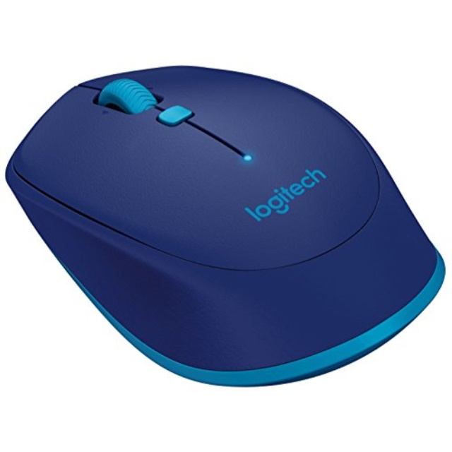 Logitech M535 Compact Bluetooth Wireless Optical Mouse for Mac, Windows, Chrome OS and Android Devices – Blue