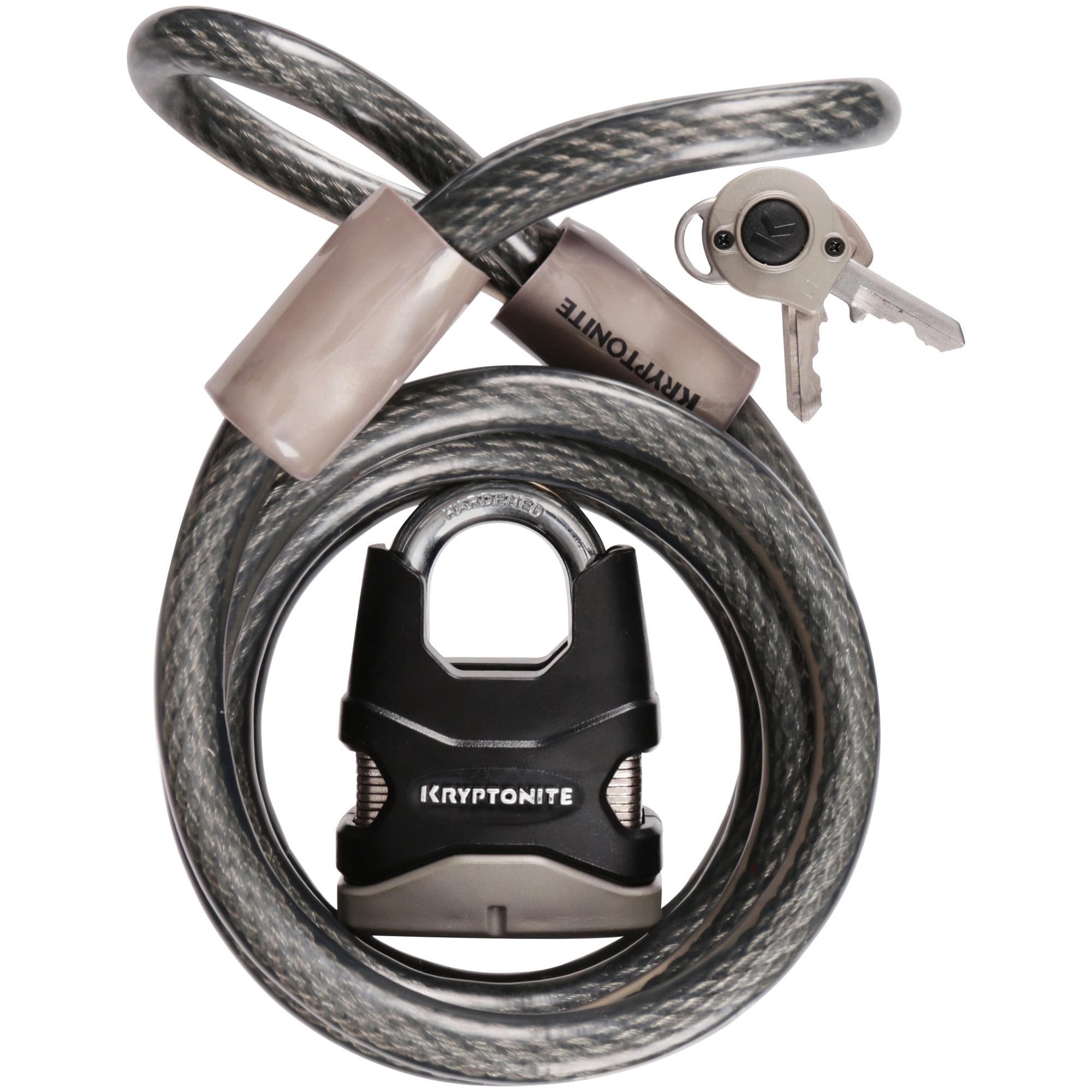 Kryptonite® Lockdown Cable & Padlock 2 pc Sleeve