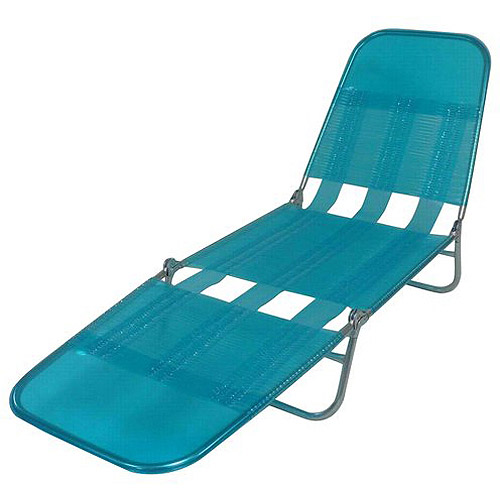 Mainstays Folding Pvc Lounge Chair Walmart Com