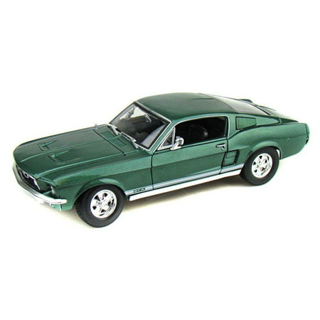 1967 Ford Mustang GTA Fastback, Green - Maisto 31166 - 1/18 Scale Diecast Model Toy Car](Gta 5 Halloween Cars Price)