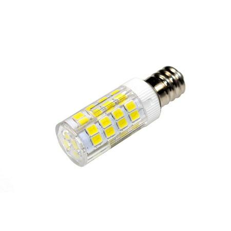 HQRP 2-Pack E12 110V LED Light Bulb Cool White for Husqvarna Viking Huskystar E20 / 431 / 435 / 440 / 444 / 535D Sewing Machine + HQRP Coaster - image 1 de 5