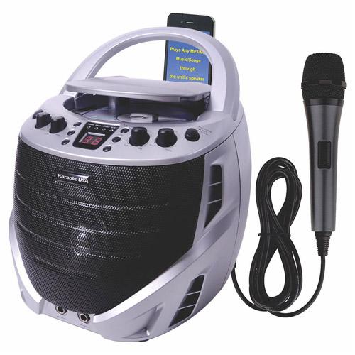 Karako USA GQ367 Portable CD+G Karaoke Player