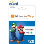 Nintendo eShop $20 (Digital Download)