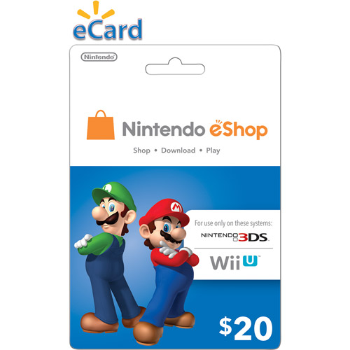 Nintendo eShop $20 (Digital Download)