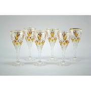 Three Star Im/Ex Inc. 3 oz. Cordial Glass (Set of 6)