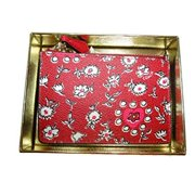 coach women's box program wild heart mini skinny li wild hearts red multi handbag by