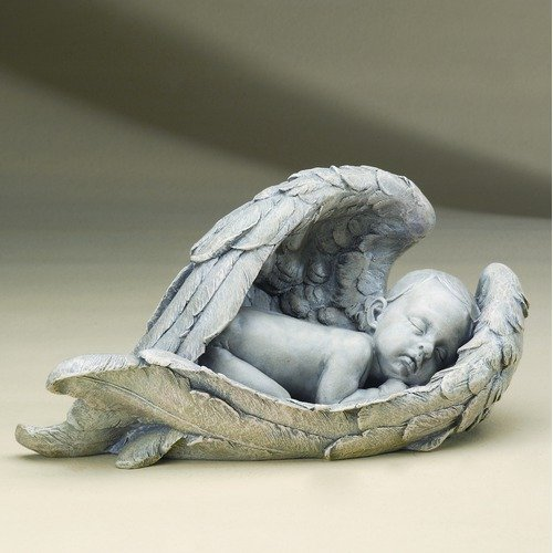 Roman Inc 15 Sleeping Baby In Wings Figurine Walmart Com