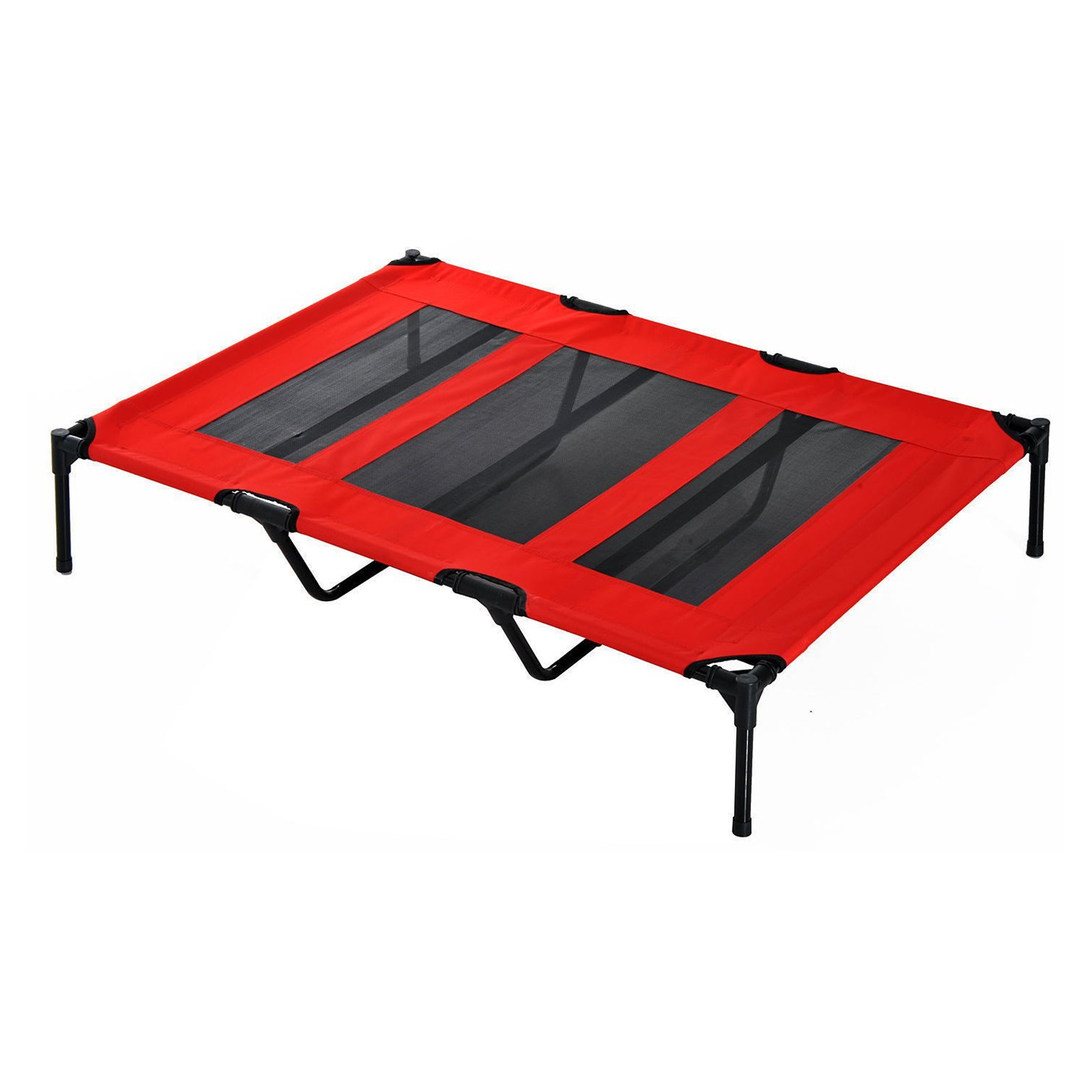 Pawhut Elevated Cooling Mesh Dog Bed Cot