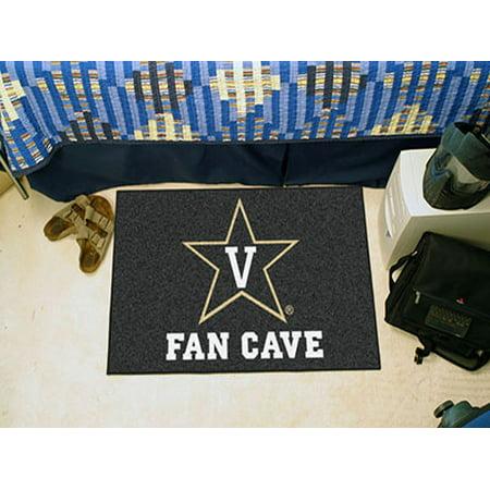 Fanmats Vanderbilt University Commodores Fan Cave Starter Rug 19  X30