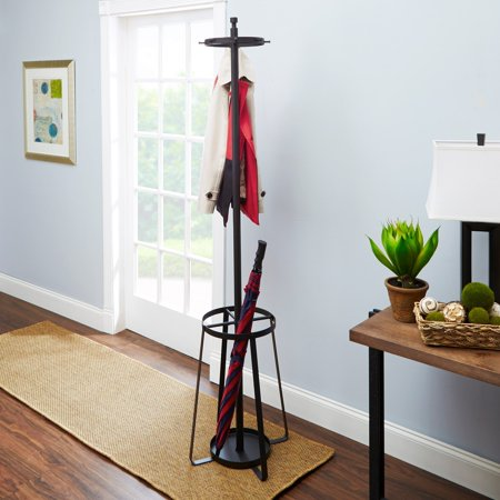 Cheyenne Products Lenore 4040 Standing Coat Rack With Umbrella Classy Standing Coat Rack Walmart