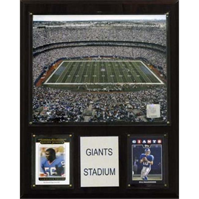 C & I Collectables 1215GIAST NFL Giants Stadium Plaque