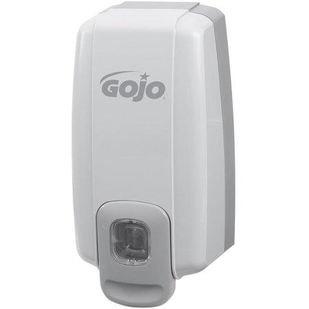 - Gojo, GOJ213006, NXT Space Saver Lotion Soap Dispenser, 1 Each, Dove Gray, 1.06 quart