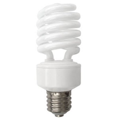 TCP 2892727751K Single 27 Watt Frosted T4 Medium (E26) Compact Fluorescent 277V Bulb - 5100K
