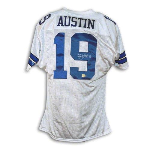 NFL - Miles Austin Dallas Cowboys Autographed White Jersey