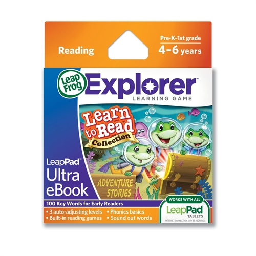 Leapfrog Enterprises, Inc 32018 LeapPad Ultra eBook Learn To Read Collection, Adventure Stories