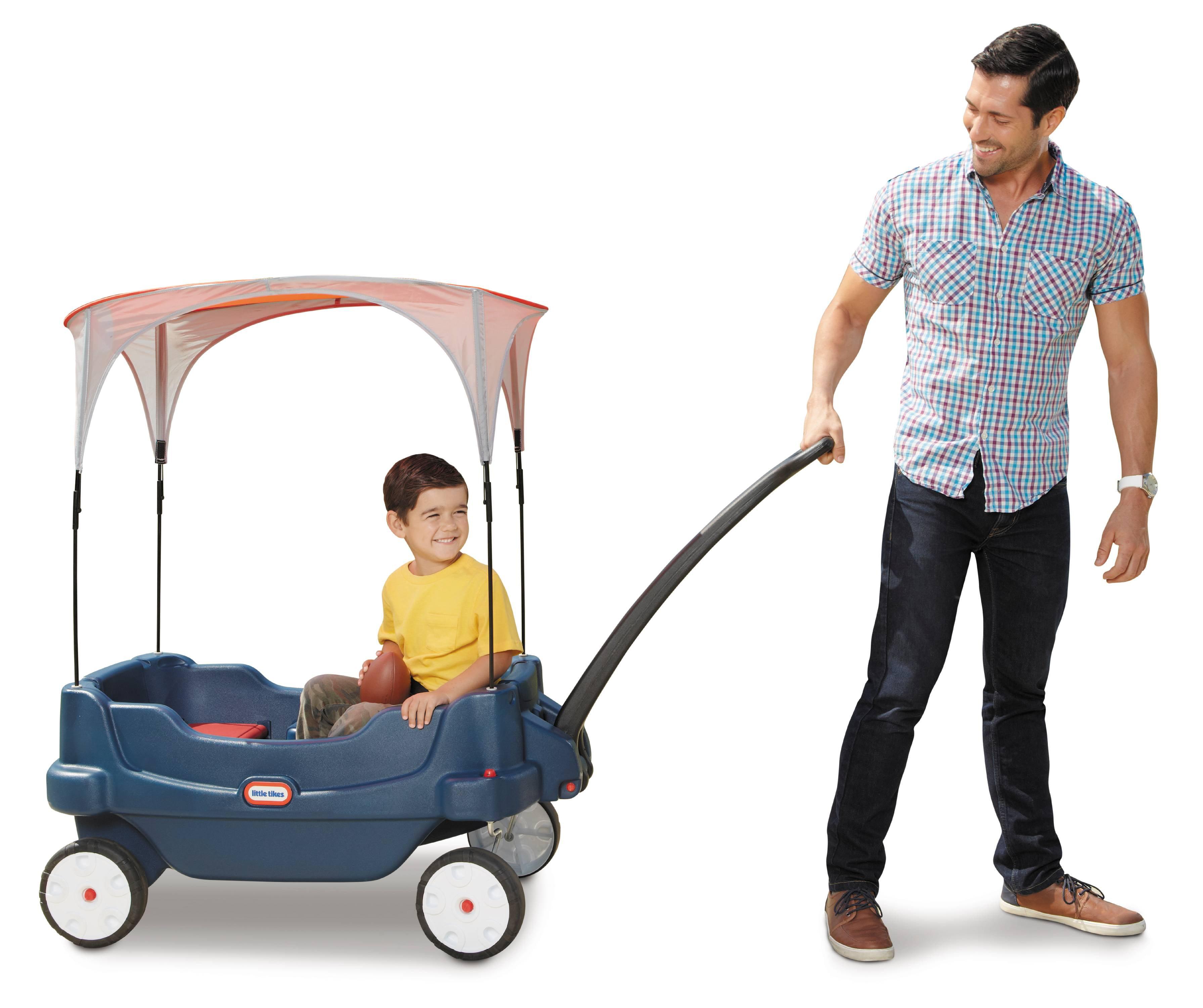 Little Tikes® Kid's Deluxe Cruisin' Wagon™ Dark Blue