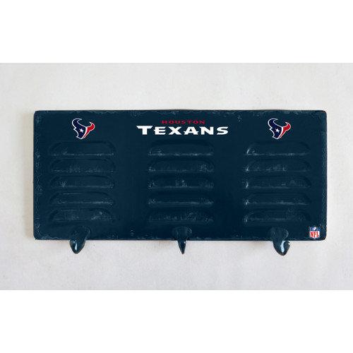 Houston Texans 3 Hook Metal Locker Coat Rack by Imperial
