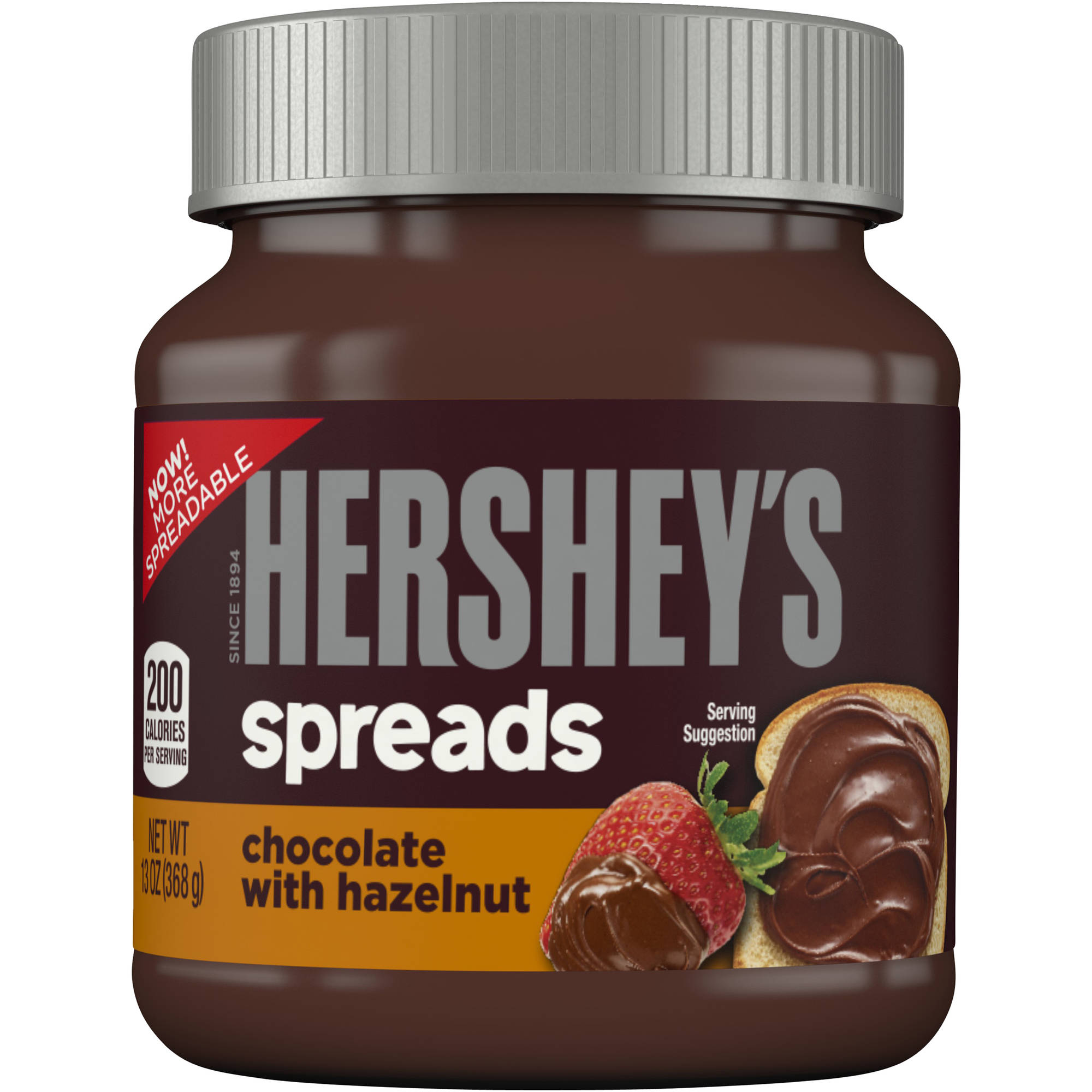 Hershey's Chocolate with Hazelnut Spread, 13 oz