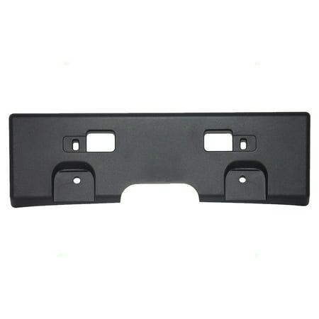 Front License Plate Holder Bracket Assembly Replacement for Nissan 96210-ET00A, Direct replacement By (2013 Nissan Pathfinder Front License Plate Bracket)