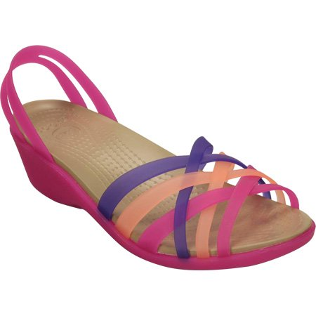 700358a6099ac Crocs - Women s Crocs Huarache Mini Wedge - Walmart.com