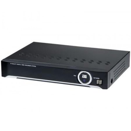 3R Global Tribrid 8CH DVR System, Prestige Series HD TVI, HD AHD, 960H auto Detect (HDD: 2TB)