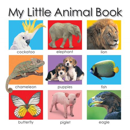 My Little Animal Book - Little Girl With Animals