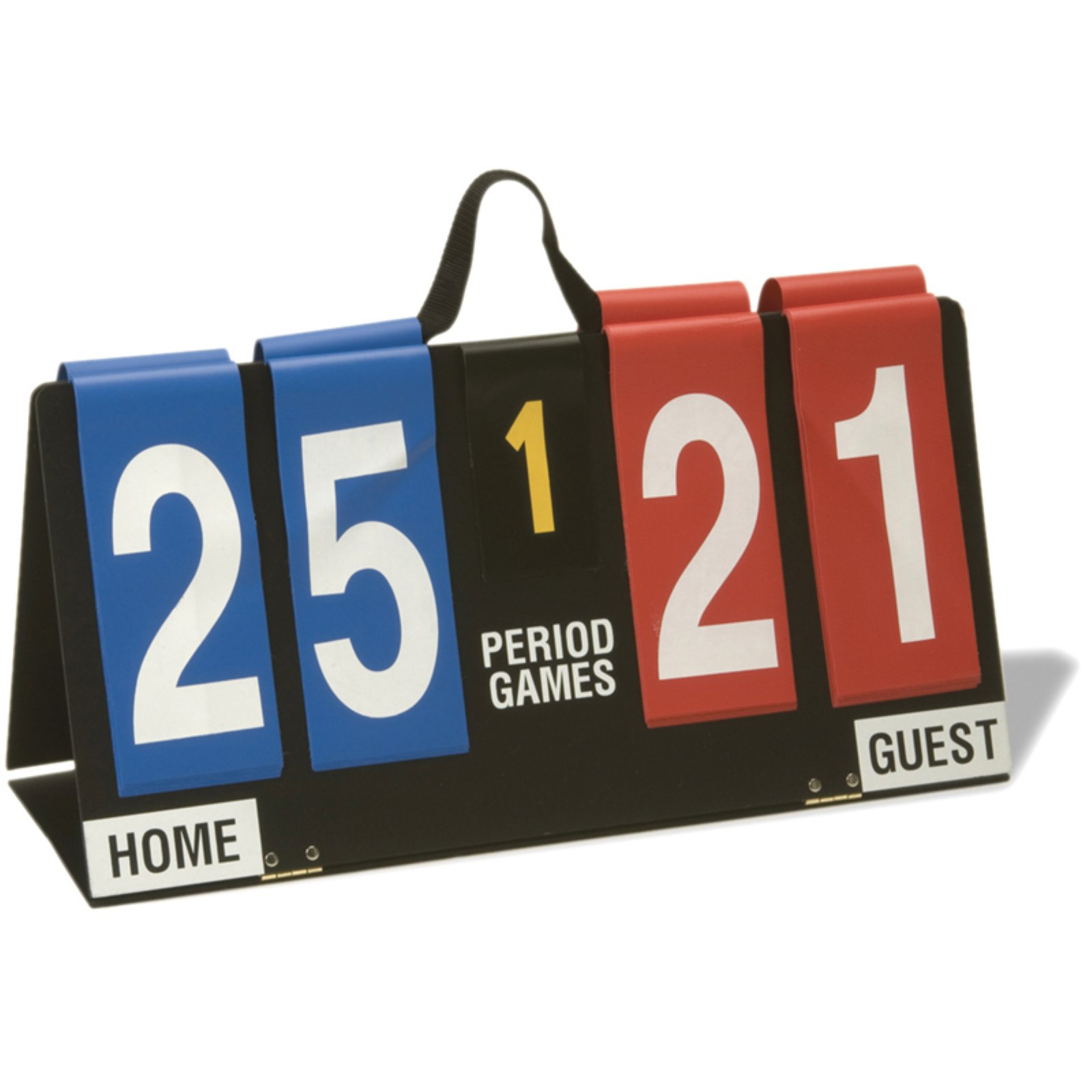 "Sportime Deluxe Score Flipper with 5 Period Indicator, 7"" Number Letter"