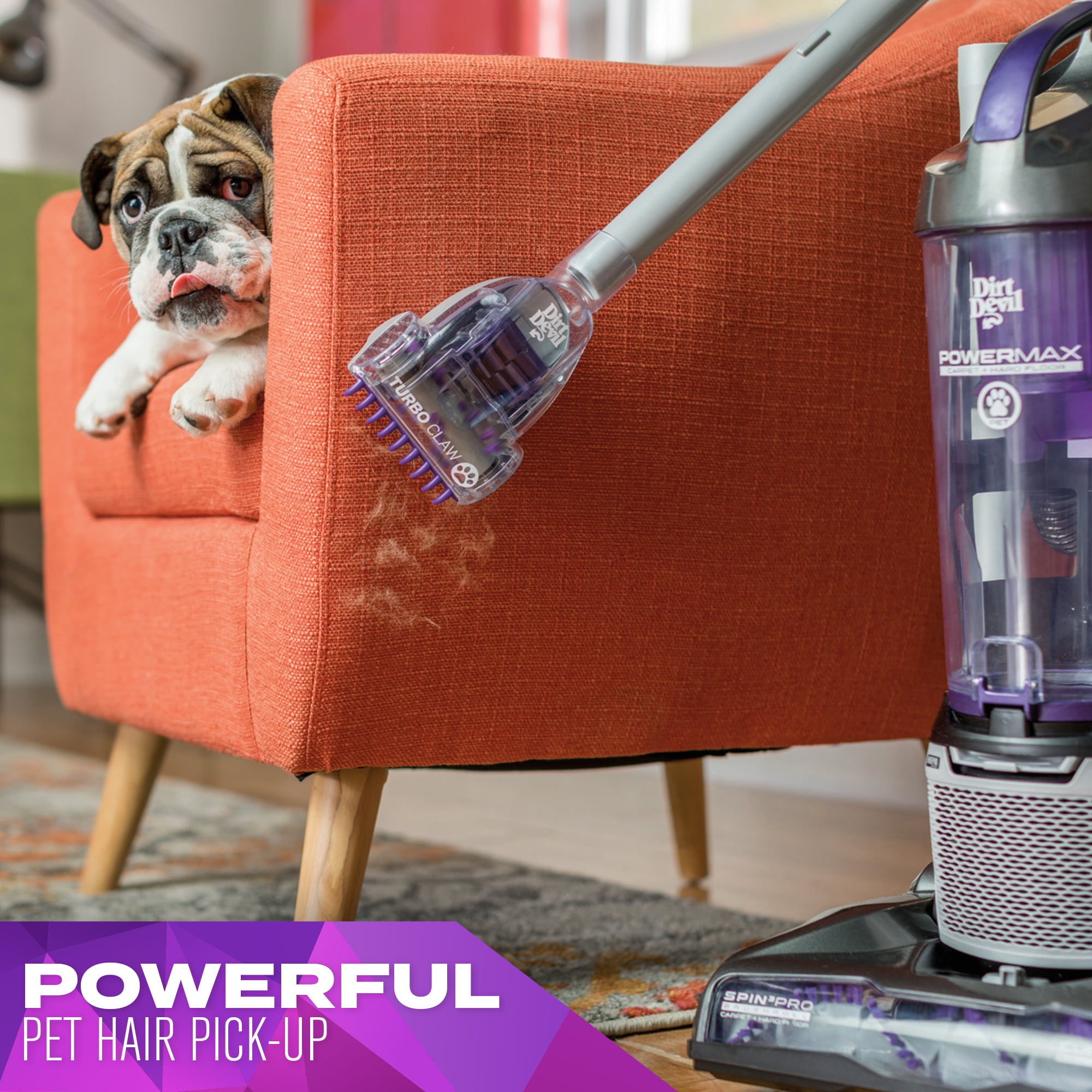 Dirt Devil Power Max Pet Bagless Upright Vacuum Ud70167p Walmart Com