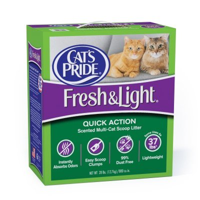 Cat S Pride Fresh And Light Multi Cat Premium Scoopable